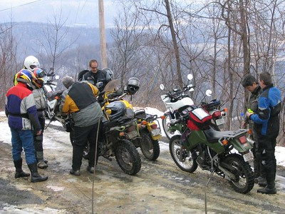 """docgonzo's """"Meet At Bodo's"""" Ride 2/26/05"""