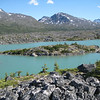 Amazing scenery on Hwy #2 (the Klondike Highway) enroute from Whitehorse to Skagway Alaska.