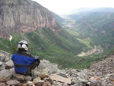 Telluride, from Black Bear Pass.