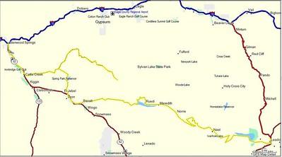 Glenwood Springs to Leadville.