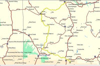 Durango to Montrose.