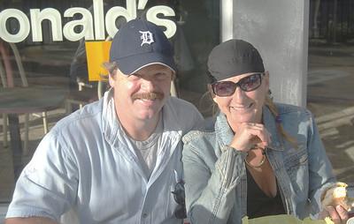 Steve and Jean at McDonalds