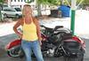 Jean and Bike