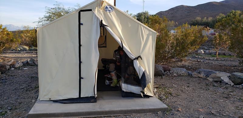 Panamint Springs tent cabin
