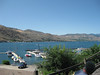 Nothing much is better than a burger on Lake Chelan.