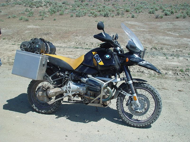This is Marks BMW-GS, Adventure.