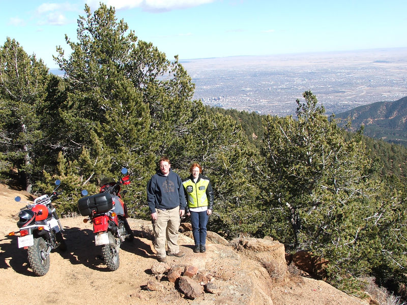 FR381, Near Wye campground off Goldcamp Rd. Overlooking Colorado Springs.