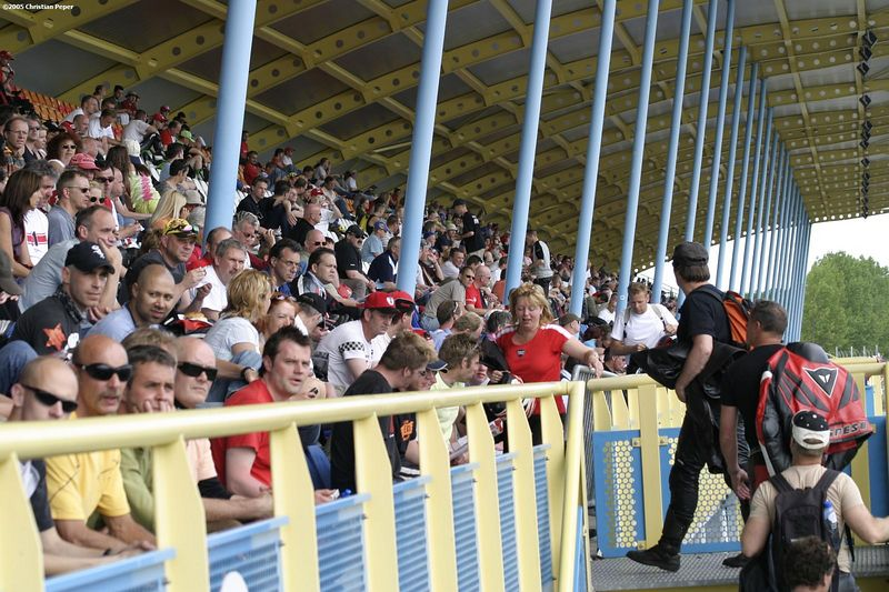 The stands in Assen