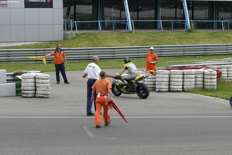 Red flag, race stopped