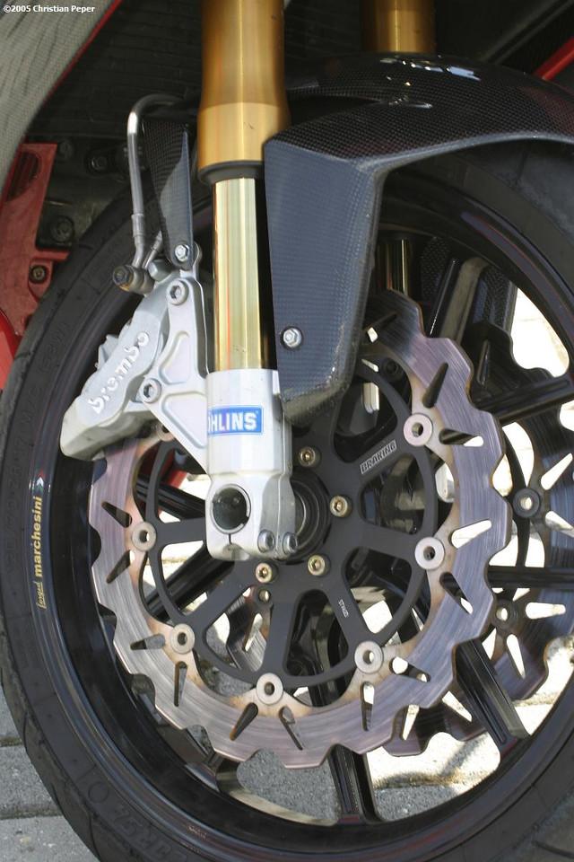 Fancy new isk brakes