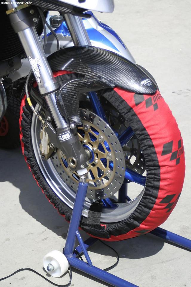 Tire warmers