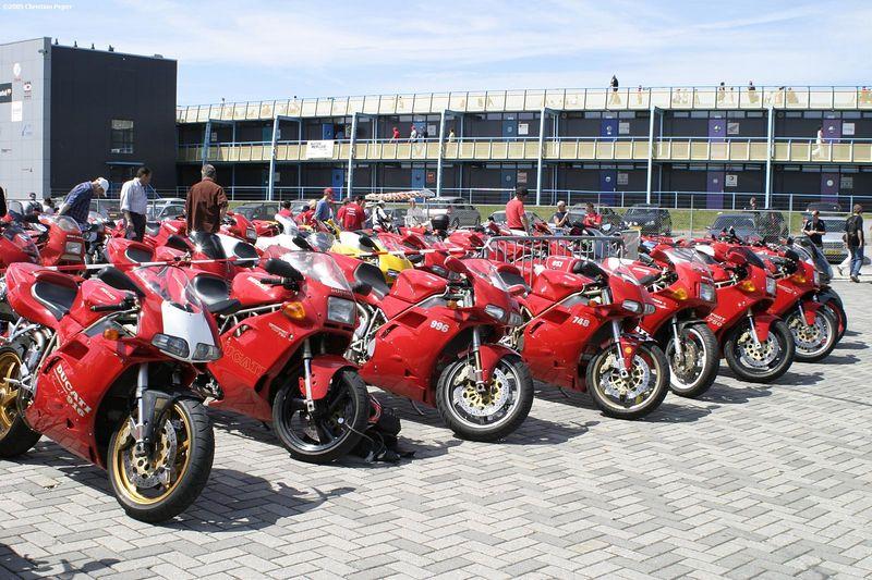 Ducati models line-up