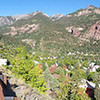 City of Ouray, CO panorama