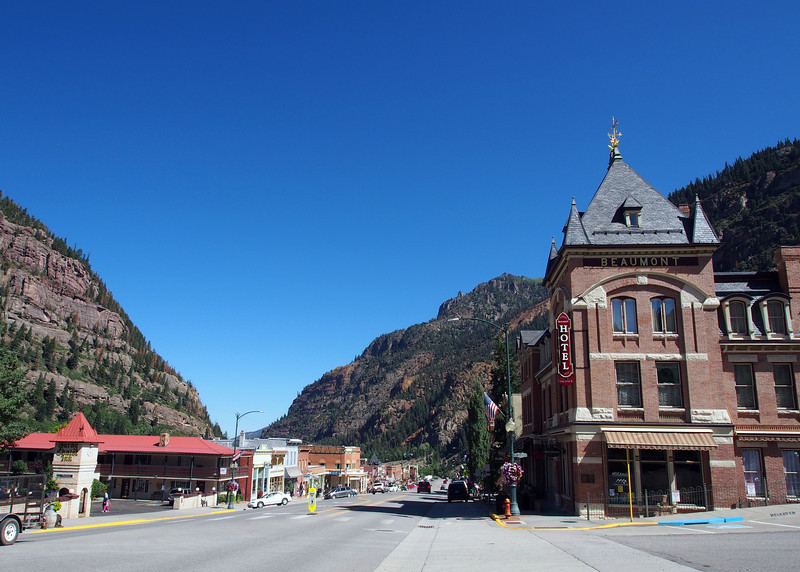 Downtown Ouray, CO