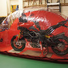 """2/2: My Multistrada 1200 (semi stripped for winter top to toe super clean) stored in the Carcoon bikebubble - dry clean dust free storage for motorcycles via dust and active charcoal air circulation system: <br />  <a href=""""http://www.motorcycleinfo.co.uk/index.cfm?fa=contentGeneric.ejdlwmdldgctiiar&pageId=4930762"""">http://www.motorcycleinfo.co.uk/index.cfm?fa=contentGeneric.ejdlwmdldgctiiar&pageId=4930762</a>"""