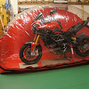 """1/2: My Multistrada 1200 (semi stripped for winter top to toe super clean) stored in the Carcoon 'bikebubble' (Bike Bubble) - dry clean dust free storage for motorcycles via dust and active charcoal air circulation system: <br />  <a href=""""http://www.motorcycleinfo.co.uk/index.cfm?fa=contentGeneric.ejdlwmdldgctiiar&pageId=4930762"""">http://www.motorcycleinfo.co.uk/index.cfm?fa=contentGeneric.ejdlwmdldgctiiar&pageId=4930762</a>"""