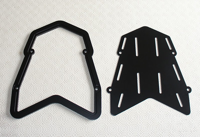 2/6: Multistrada 1200 custom rear carrier / rack (for magnetic bags;-) (design by AndyW) see also