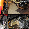 "Ducati Multistrada 1200 - the front cylinder head / valve cover is vulnerable to damage from stones / debris kicked up by the front tyre - solution, a custom stainless steel guard/protector (MKI) (in conjunction with a fender extender for the front mudguard)<br /> More info here :  <a href=""http://www.motorcycleinfo.co.uk/index.cfm?fa=contentGeneric.psqlmptrfsppjcbe&pageId=2171285#hub_tool"">http://www.motorcycleinfo.co.uk/index.cfm?fa=contentGeneric.psqlmptrfsppjcbe&pageId=2171285#hub_tool</a>"