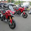Saturday 05Jun2010 - I've had the handover lecture from the Sales manager - my MTS1200S Sport outside Riders Bridgwater ready to go. A non 'S' MTS1200 in the background fresh out the crate. <b>My website: www.mts1200.info</b>