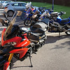 3/10: 2012 SV1000 Owners Meet, Chesterfield, Derbyshire - still in 'touring mode'