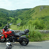 6/10: 2012 SV1000 Owners Meet, Chesterfield, Derbyshire - Sat rideout - lunch stop at Mosal Head above Monsal Dale.....amazing view :-)
