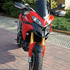 Multistrada 1200 OE screen DIY shorty / sport screen modification - MKI version (see later photos:-)