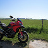 3/5: Multistrada 1200- First ride after more surgery on my leg Oct 2011 - Fan....bloody.....tastic!<br /> Stonehenge
