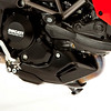 Multistrada 1200 belly pan parts powder coated black (1)
