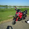 1/5: Multistrada 1200- First ride after more surgery on my leg Oct 2011 - Fan....bloody.....tastic!<br /> Chew Valley Lake