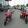 Saturday 05Jun2010 - I've had the handover lecture from the Sales manager - my MTS1200S Sport outside Riders Bridgwater ready to go. A non 'S' MTS1200 to the right fresh out the crate. <b>My website: www.mts1200.info</b>