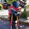 Multistrada 1200 OE screen DIY shorty / sport screen modification - MKII version (shorter still:-)