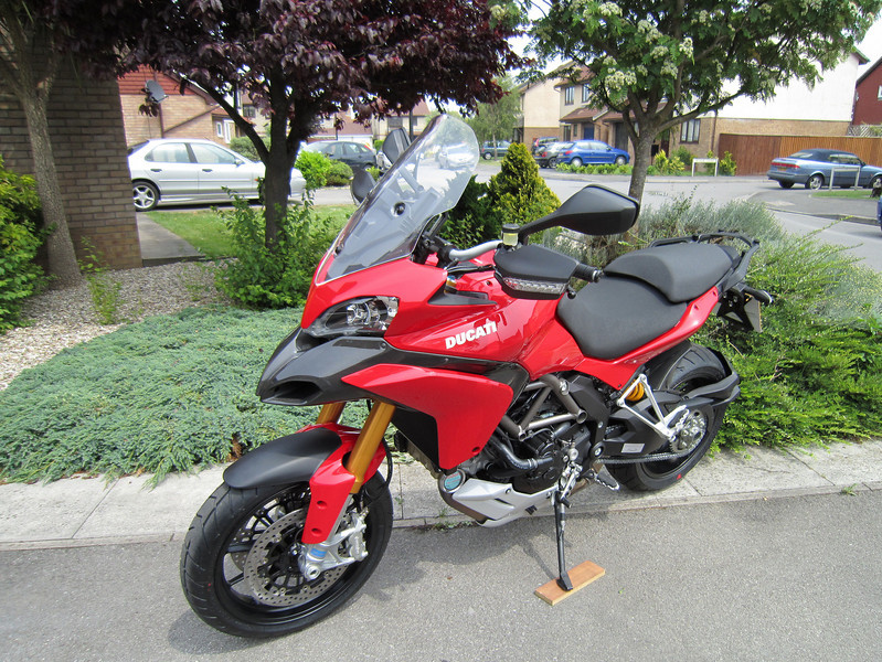 Saturday 05Jun2010 - my MTS1200S Sport at home for the first time :-)<br /> First 90 miles on the clock, would have loved to have done more but no time ;-(<br /> So far....SOOOOOO HAPPY! :-)