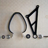 Multistrada 1200 custom hanger for full Termi (Termignoni) - modified fixing / mounting