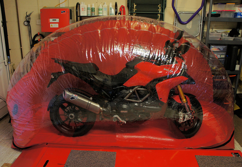Genial 3/3: Carcoon Bikebubble For Motorcycle Storage / Protection   Keep Your  Pride And