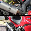 Replacement exhaust hanger for the full Termignoni exhaust system............much neater! :D<br /> And to fit the Ducati panniers and/or take a pillion passenger you simply fit the original OE pillion peg carriers on top :-)