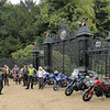 SV1000 owners annual meet, Norfolk........outside Sandringham House....kept ringing the bell but nobody let us in! lol