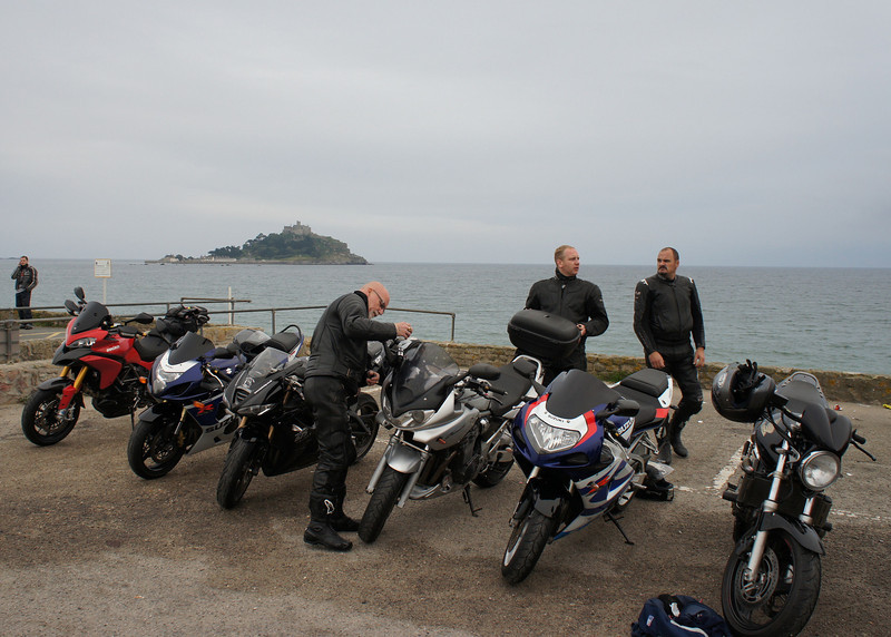 "01Aug2011 - St Michael's Mount, Marazion near Penzance....""Run To The Bun"" South West Bikers Lands End run"
