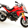 Multistrada 1200 belly pan parts powder coated black (2)