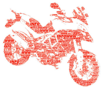 ...and .jpg version on white background. www.mts1200.info Multistrada 1200 graphic by Piero....nice work, many thanks :D