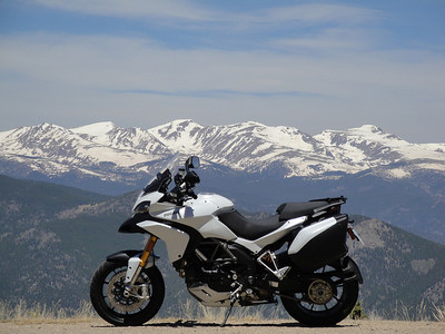 Photo by Ducati.MS member 'sfarson' (aka Steve) Juniper Pass / Mt. Evans, Rockies, USA Brief story HERE
