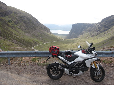 Ducatisti.co.uk member 'superally' (aka Alistair) - Multistrada 1200S Sport - Applecross Peninsula, Scotland