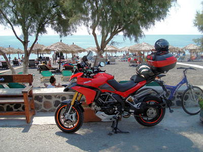 2/7 - Greek Multistrada 1200 Owner 'Teris' - Sandorini (Santorini) Island trip August 2010