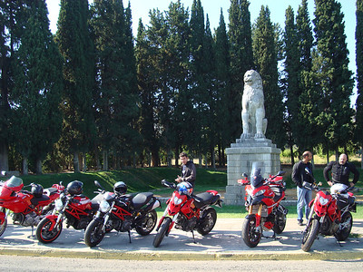Greek Multistrada 1200, owner 'Teris' -  http://ducatisti.gr/  'Hellenic Ducati Community' Ducati owners group rideout