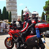 2/2 - Photo by Greek Multistrada 1200 owner/rider Eleftherios Spourgitis (aka Teris!) - Teris visits Italy, The Leaning Tower of Pisa (Torre pendente di Pisa) / the Tower of Pisa (Torre di Pisa) the freestanding bell tower, of the cathedral of the Italian city of Pisa.