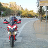 Greek Multistrada 1200, owner 'Teris' - AKROPOLIS IN ATHENS