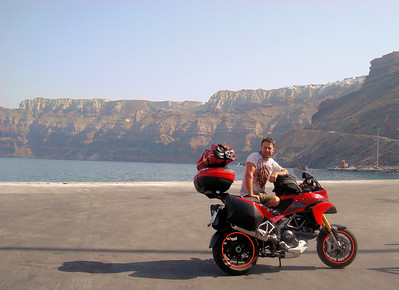5/7 - Greek Multistrada 1200 Owner 'Teris' - Sandorini (Santorini) Island trip August 2010