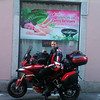 Photo by Greek Multistrada 1200 owner/rider Eleftherios Spourgitis (aka Teris!) - Teris visits Italy, OUTSIDE HOTEL AT THE COMO LAKE KEKE