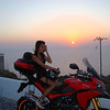 4/7 - Greek Multistrada 1200 Owner 'Teris' - Sandorini (Santorini) Island trip August 2010