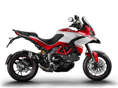 4/4: The 'face lift' Multistrada 1200 Pikes Peak for 2013