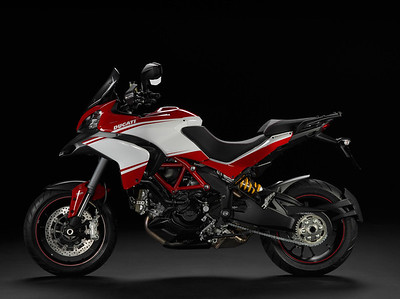 2/4: The 'face lift' Multistrada 1200 Pikes Peak for 2013